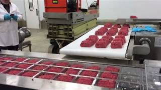 VC999 RS420 with autoloading moving belt loading fresh meat and ground portions HD