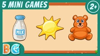 ✤♫  Phonics And Numbers For Children | Educational Video Games For Kids Age 2 - 5