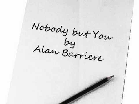 Nobody but you - Alain Barriere
