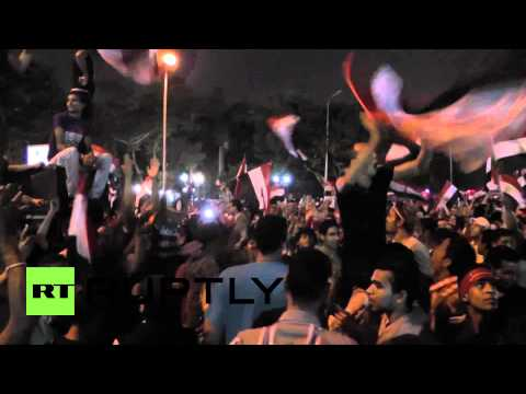 Egypt: Cairo parties as Morsi falls