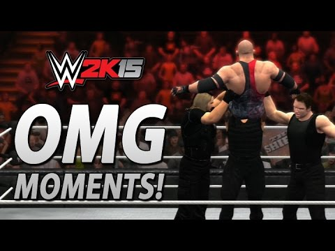 Wwe 2k15: All Omg Moments Including The Shield's Triple Powerbomb! video