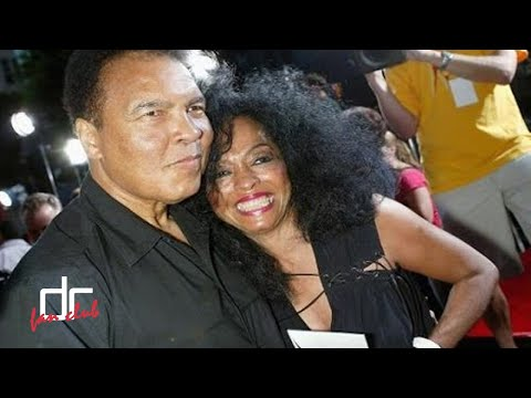 Diana Ross and Muhammad Ali @Best Moments In Memoriam To The Greatest