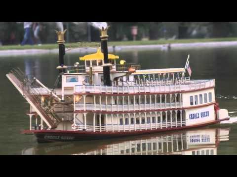 New Orleans Creole Queen Paddle Wheel Mississippi River Boat
