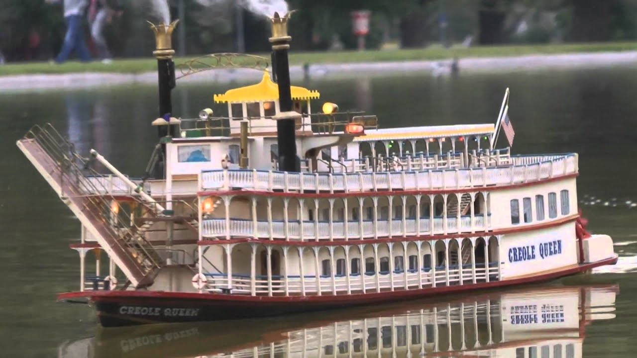 New Orleans Creole Queen Paddle Wheel Mississippi River Boat - YouTube