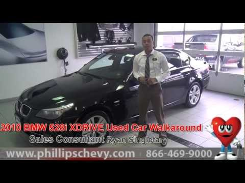 2010 BMW 528i Walkaround at Phillips Chevrolet - Used Car Dealer Sales Chicago Dealership