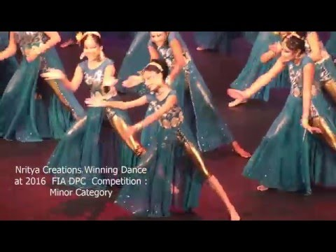 Nritya Creations Winning Dance in Minor Category at FIA DPC 2016