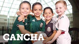 Reviven niños festejo viral del Tri