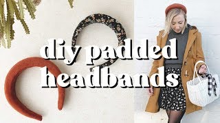 DIY Padded Headbands