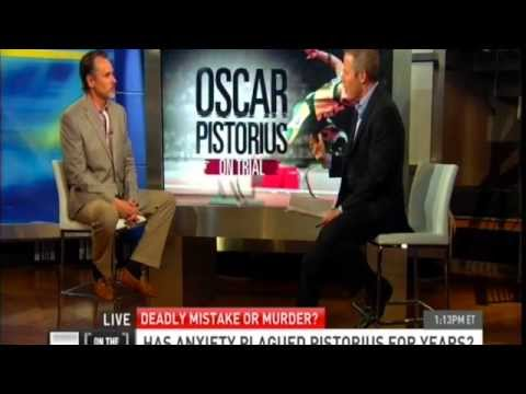 Dr. E... on HLN Discusses Oscar Pistorius & Generalized Anxiety Disorder
