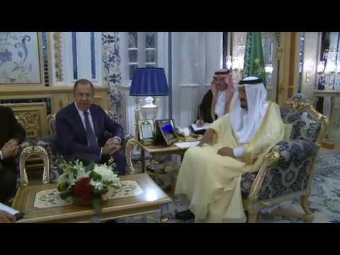 Встреча с Королем Саудовской Аравии Сальманом Бен Абдель Азиз Аль Саудом