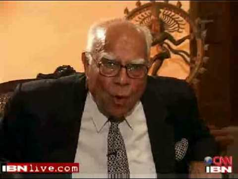 Ram Jethmalani slams shameless IBNLive as Bullshit