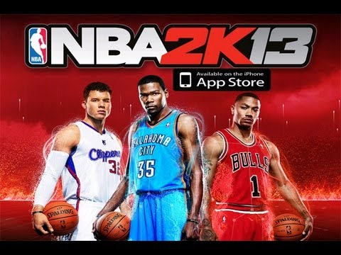 NBA 2K13 GAMEPLAY iPhone iPod Touch iPad