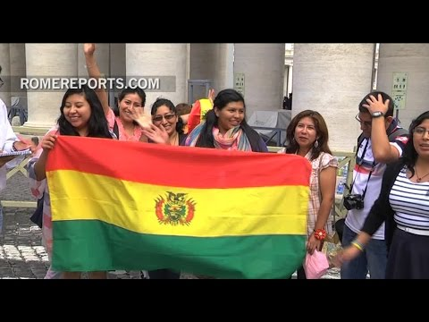 Trip of a lifetime: From Bolivia to the Vatican