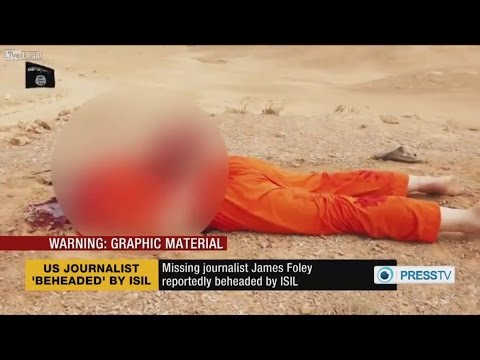 Another journalist beheaded by ISIL