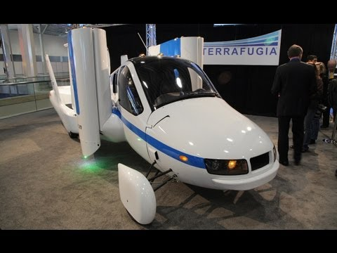 Terrafugia Transition Roadable Aircraft @ 2012 New York Auto Show