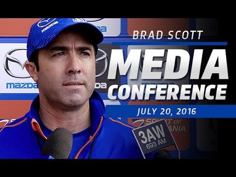 July 20, 2016 - Brad Scott media conference