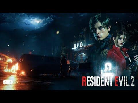 RESIDENT EVIL 2: Remake. Часть 3. Сценарий Leon A. Найти Аннет! (без комментариев) [2K 1440p]