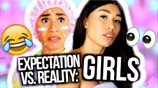 What You THINK Girls Do Vs. What They Actually Do | Expectation Vs. Reality | MyLifeAsEva