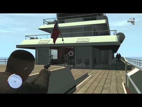 GTA IV: The Ballad of Gay Tony  новое прохождение часть 1 Взорвали красивую яхту