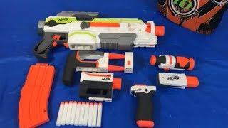 Toy Gun Nerf Guns NEW Modulus ECS-10 Gun with Attachments