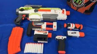 Toy Gun Nerf Guns NEW Modulus ECS-10 Gun with Attachments