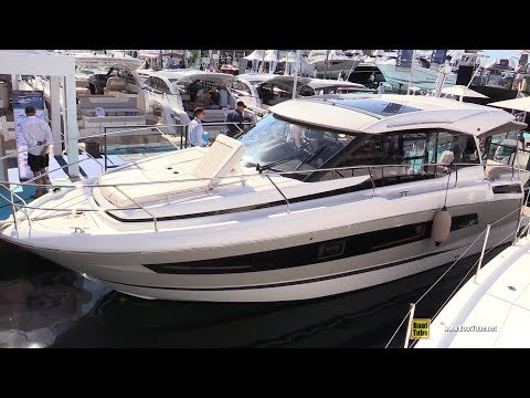 2019 Jeanneau NC37 Yacht - Deck and Interior Walkaround - Debut at 2018 Cannes Yachting Festival
