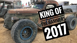 Merricks Garage - King of the Hammers 2017 (pit and expo walkthrough)