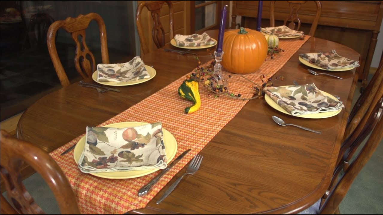 How To Make A Table Runner Youtube