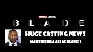 HUGE Marvel's Blade Casting News From San Diego Comic-Con 2019
