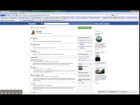 Learn how to add html pages to your facebook account.