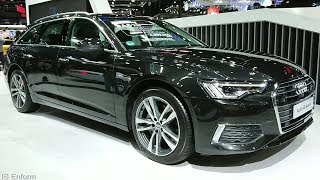 2019 Audi A6 Avant (C8) 50 TDi Quattro 3.0L Diesel Turbo V6 Walkaround Exterior & Interior