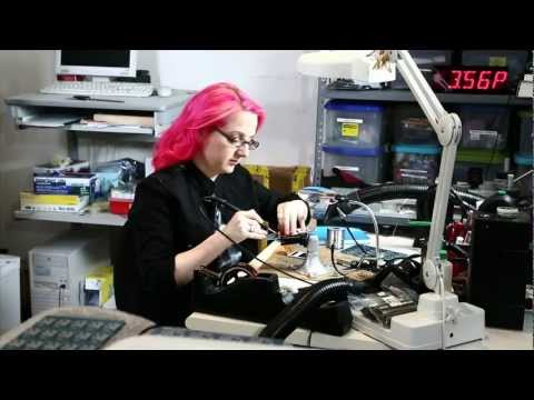 "Meet Limor ""ladyada"" Fried at Adafruit Industries!"