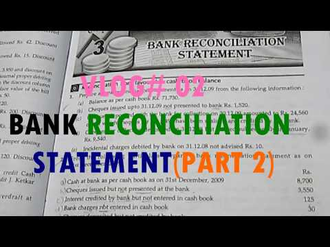 Bank Reconciliation Statement (BRS) for commerce students within 10min (Part 2) Pass Book Questions