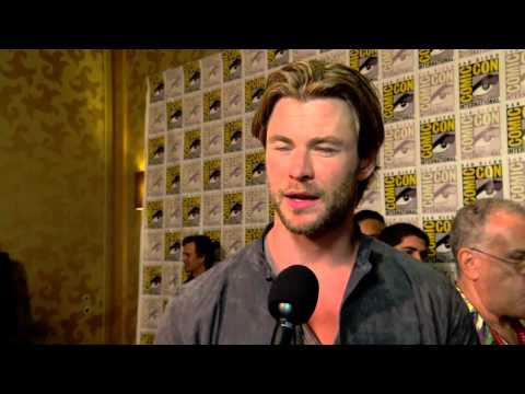 The Avengers: Age of Ultron: Chris Hemsworth Comic Con Movie Interview