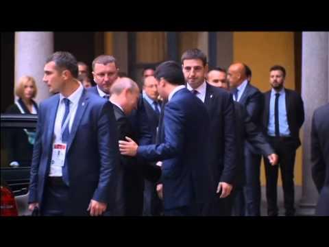 Poroshenko Meets Putin in Milan: Early reports suggest no major breakthrough in Ukraine crisis