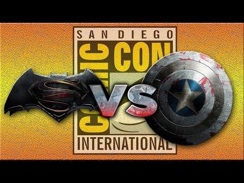 Batman v Superman or Captain America 3? - SDCC 2014