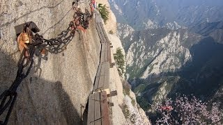 The Scariest Path In The World  / China