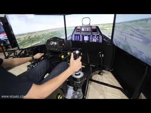 Vesaro V-Spec Motion Flight Simulator