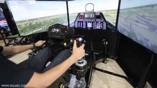 Vesaro V-Spec Motion Flight Simulator