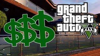 """GTA5 Grand Theft Auto V: VEEL GELD dmv AANDELEN!"""" (Dutch Commentary)"""