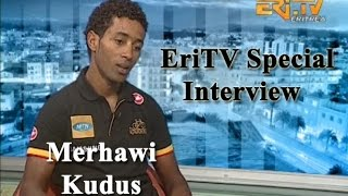 Eritrean Interview with Cyclist Merhawi Kudus - Eri-TV