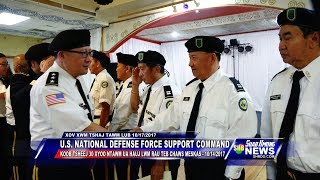 SUAB HMONG NEWS:  U.S. National Defense Force Support Command's 30th Years Services Celebration