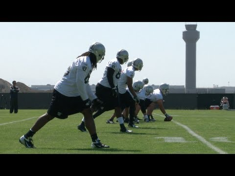 Oakland Raiders OTAs - WK 3 - Practice/Interviews
