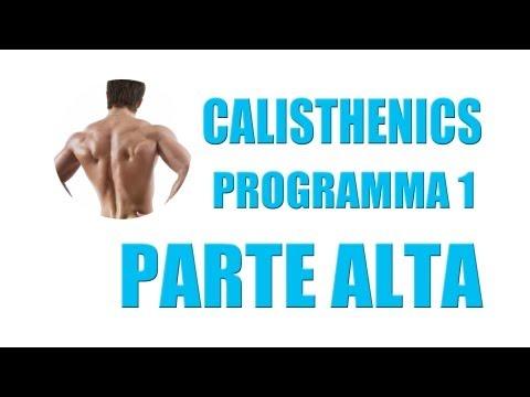 Calisthenics: Programma Gratuito a Corpo Libero Parte Alta