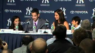 Jorge Posada's retirement speech