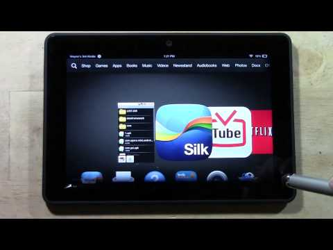 Kindle Fire HDX - How to Download 1mobile market (Get More Free Apps)