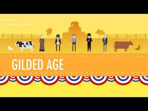 Gilded Age Politics:crash Course Us History #26 video