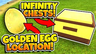Booga Booga BIG UPDATE! (GOLDEN EGG LOCATION, NEW WEAPON, INFINITY CHESTS!)