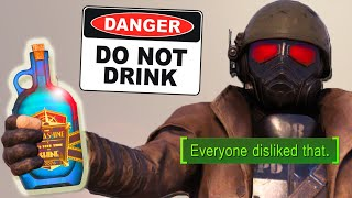 I gave a TOXIC DRINK to NEW PLAYERS in Fallout 76
