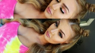 Tragbares FESTIVAL MAKEUP LOOK | Tutorial